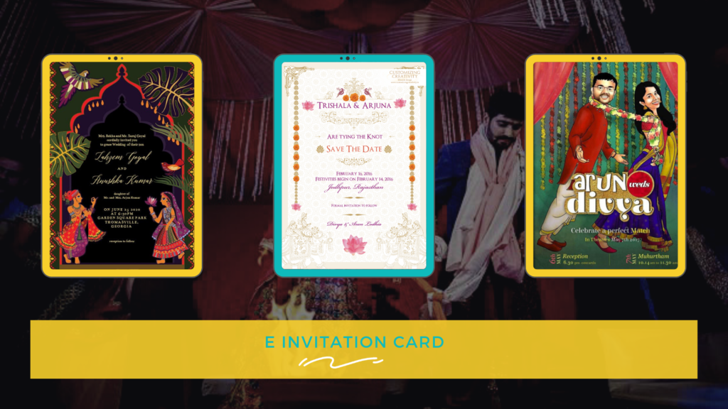 E-INVITATION CARD